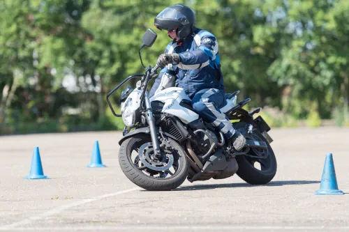 Motorrijbewijspoint Roermond motor rijtest
